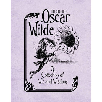 The Quotable Oscar Wilde: A Collection of Wit and Wisdom-Book-Book Lover Gifts
