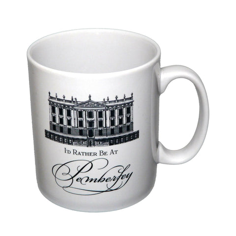 Mug - Jane Austen - I'd Rather Be At Pemberley-Mug-Book Lover Gifts