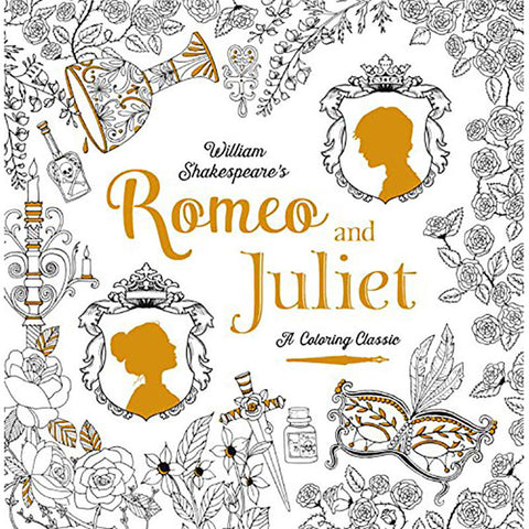 Colouring Classic Book - Romeo & Juliet - Shakespeare