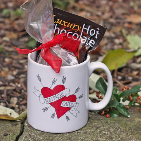 Gift Set - Mug & Hot Chocolate - Montague & Capulet