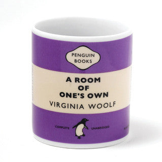 Mug - Penguin - Room Of One's Own - Virginia Woolf-Mug-Book Lover Gifts