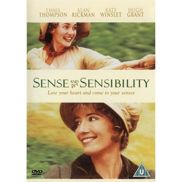 DVD - Sense & Sensibility - Emma Thompson - 1995-DVD-Book Lover Gifts