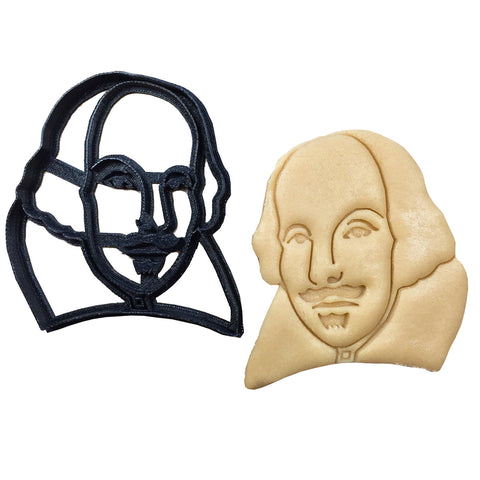 3D Cookie Cutter - William Shakespeare