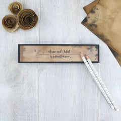 Pencils Set - Shakespeare Quotations-Stationery-Book Lover Gifts