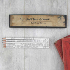 Pencils Set - Shakespeare Quotations