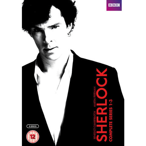 DVD Box Set - Sherlock - BBC - Complete Series 1-3-DVD-Book Lover Gifts