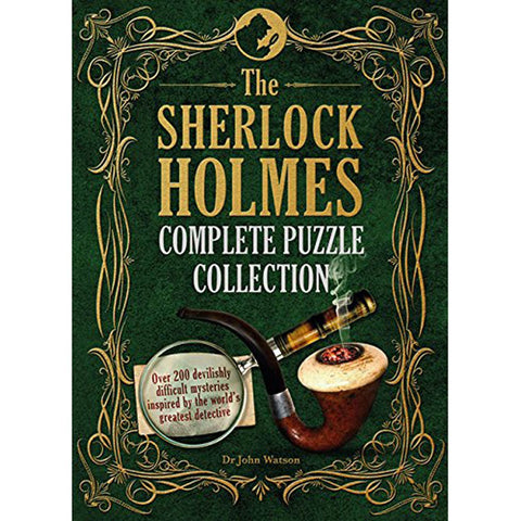 The Sherlock Holmes Complete Puzzle Collection-Game-Book Lover Gifts