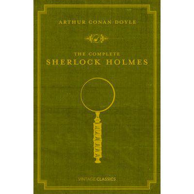 The Complete Sherlock Holmes - Vintage-Book-Book Lover Gifts