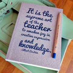 Journal / Notebook - Teacher Quotation - Einstein