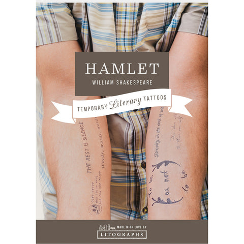 Temporary Tattoos - Hamlet - Shakespeare