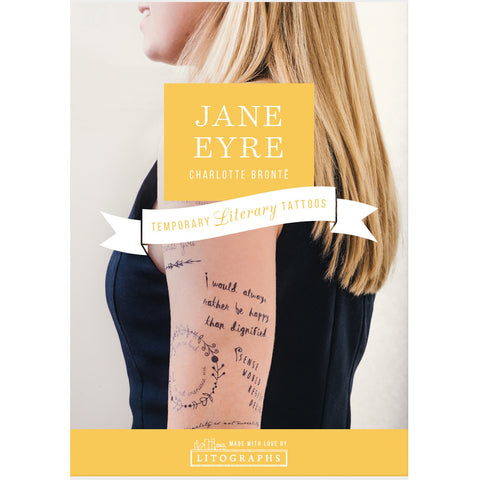Temporary Tattoos - Jane Eyre - Bronte
