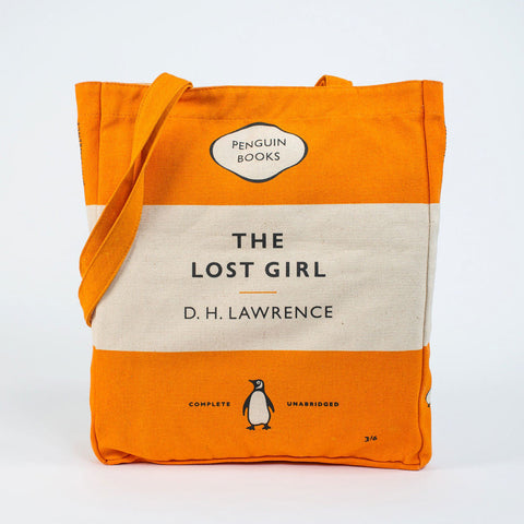 Book Bag - The Lost Girl - Penguin-Bag-Book Lover Gifts