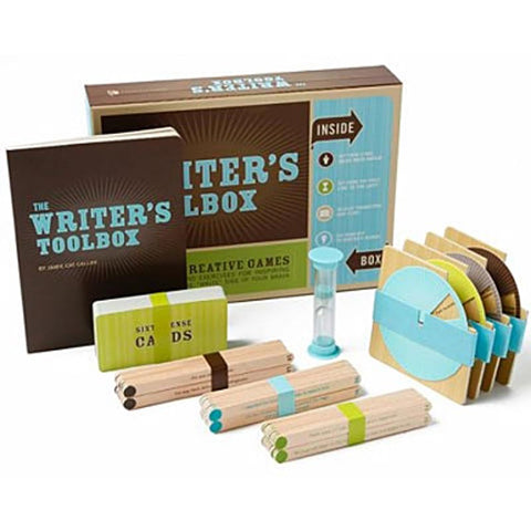 The Writer's Toolbox - Creative Games Kit-Game-Book Lover Gifts