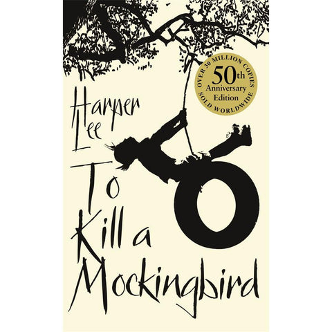 To Kill a Mockingbird - Harper Lee - 50th Anniversary Edition-Book-Book Lover Gifts