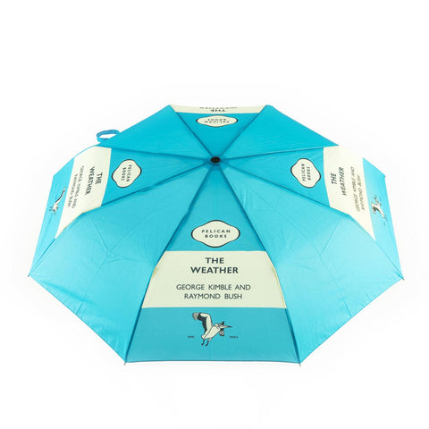 Umbrella - The Weather - Penguin-Umbrella-Book Lover Gifts