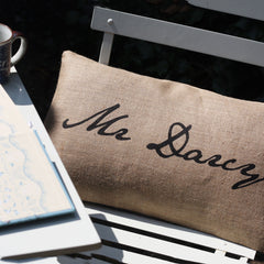 Cushion Cover - Mr or Mrs Darcy - Jane Austen