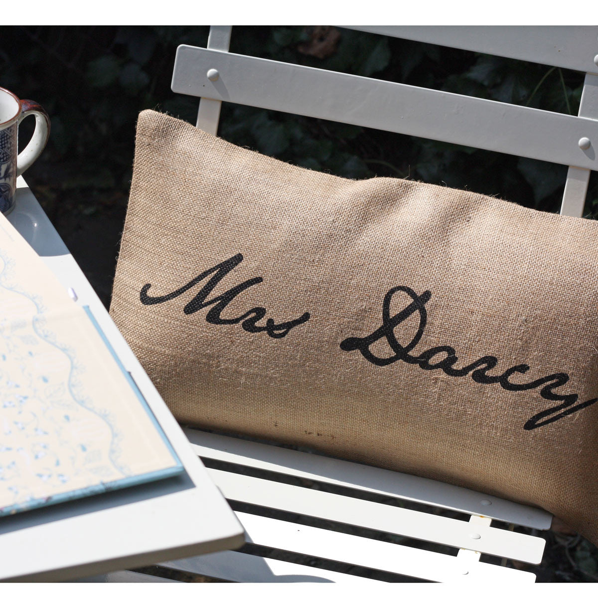 Cushion Cover - Mr or Mrs Darcy - Jane Austen-Cushion-Book Lover Gifts