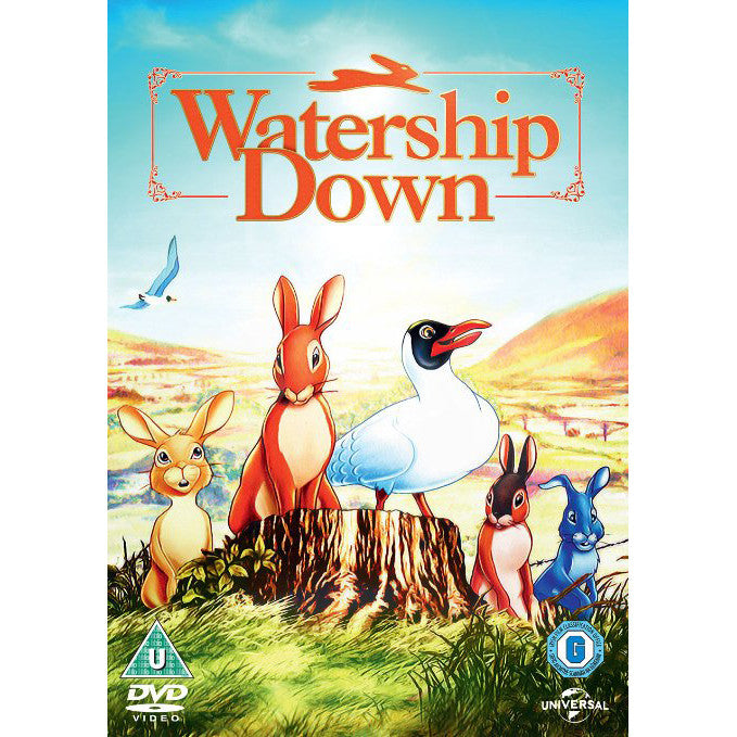 DVD - Watership Down - 1978-DVD-Book Lover Gifts