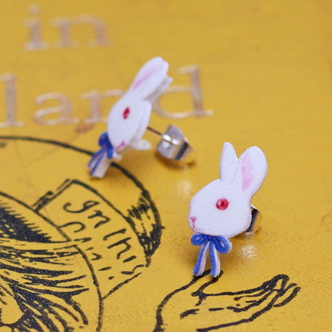 Earrings - Alice in Wonderland