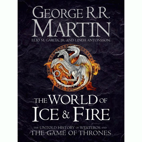The World of Ice and Fire - Game of Thrones-Book-Book Lover Gifts