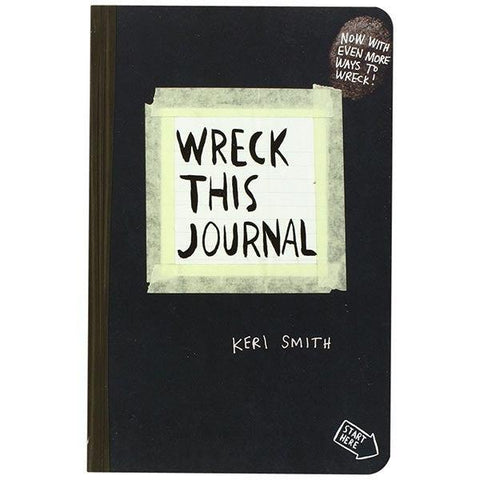 Journal - Wreck this Journal - Keri Smith