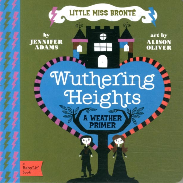 Little Miss Bronte - Wuthering Heights - Weather - Babylit-Book-Book Lover Gifts