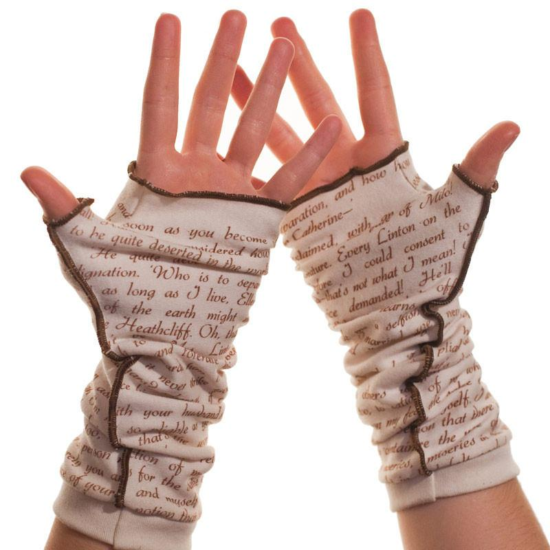 Writing Gloves - Wuthering Heights - Bronte