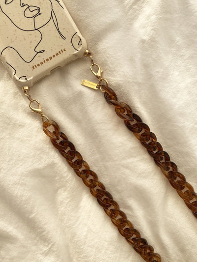 Acrylic Chain Crossbody Phone Strap - fleurapeutic