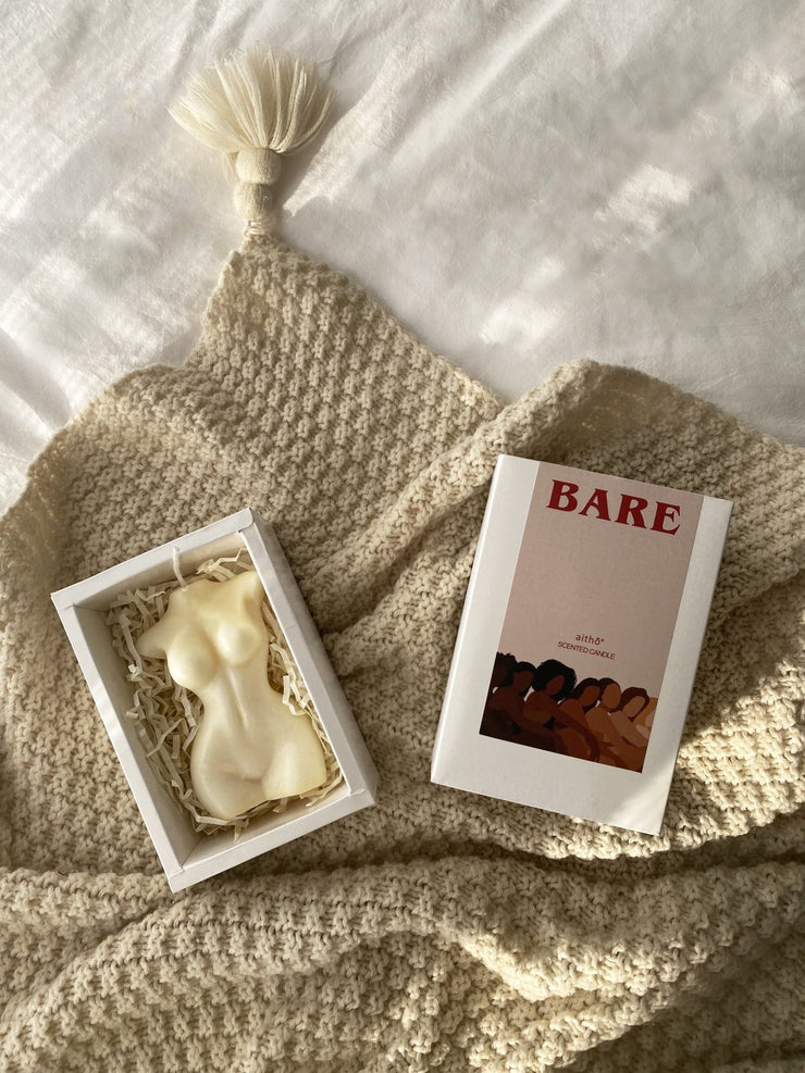Bare Body Scented Soy Wax Candle - fleurapeutic