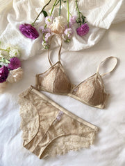 Clara Wireless Bralette Set - fleurapeutic