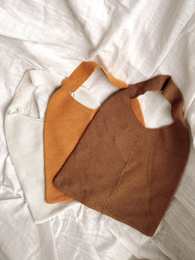 Knit Tote Bag - fleurapeutic