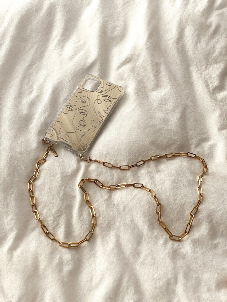 Link Chain Phone Strap - fleurapeutic