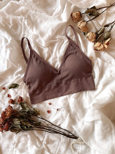 U-Back Seamless Bralette - fleurapeutic