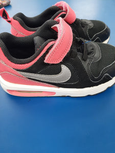 NIKE Pink and Black Sneakers sz 10