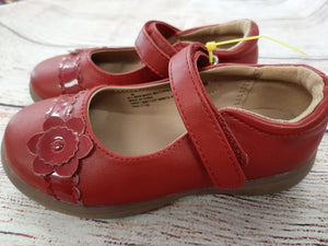 Cat & jack mary jane red size 8