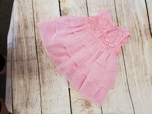 Real Love Baby Girls pink dress sz 0-3