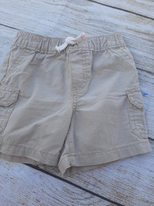 Boy Carter's  Tan Shorts sz 18 mo