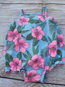 Carter's Girls 1pc Sunsuit sz. 3 mo