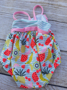 Baby Girls 1pc Swimsuit sz 3-6mo