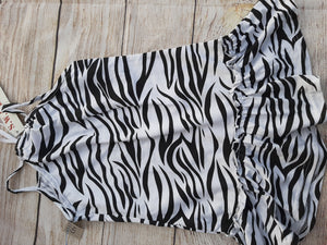 NEW S.W A.K Summer Zebra Sundress sz 5