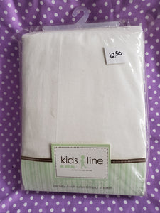 Kids line jersey knit fitted sheet