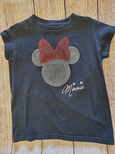 Disney Minnie girls top sz 7-8
