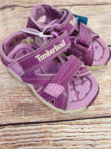 Timberland girl sandals sz 4