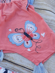 NANETTE Kids 2pc Girls Outfit sz 18 mo