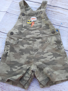 Carter's Camo Boys Shortalls sz 12mo