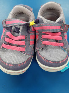 Stride  Rite Pink and Purple Shoes sz 3