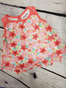 Little Lass baby girl sleeveless top sz 18 months