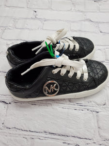 Michael Kors girls black tennis shoes sz 12