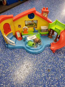 Fisher price preschool & characters & furniture