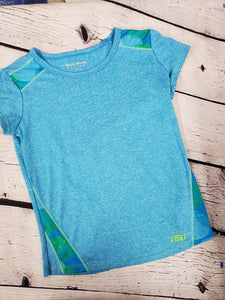 Skechers girls tshirt blue 7-8